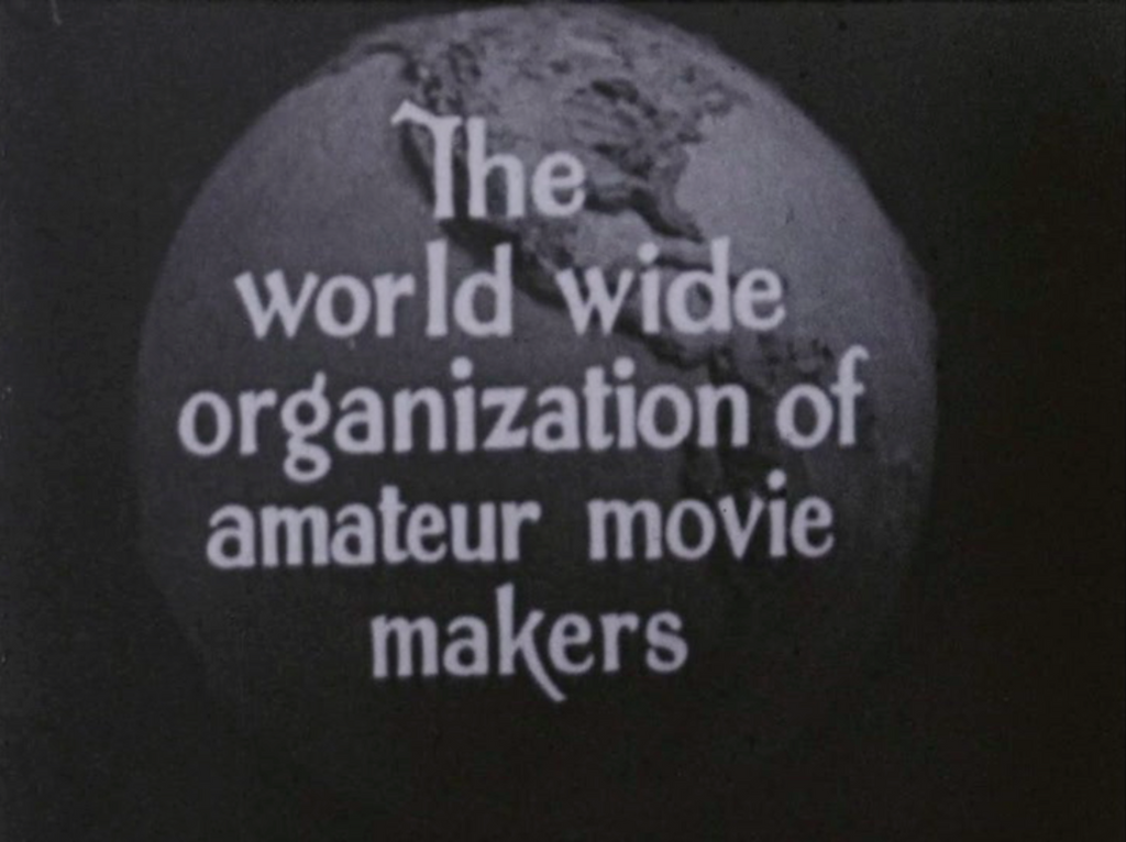 Amateur Cinema League logo, c. 1928. Courtesy NYU Orphan Film Symposium