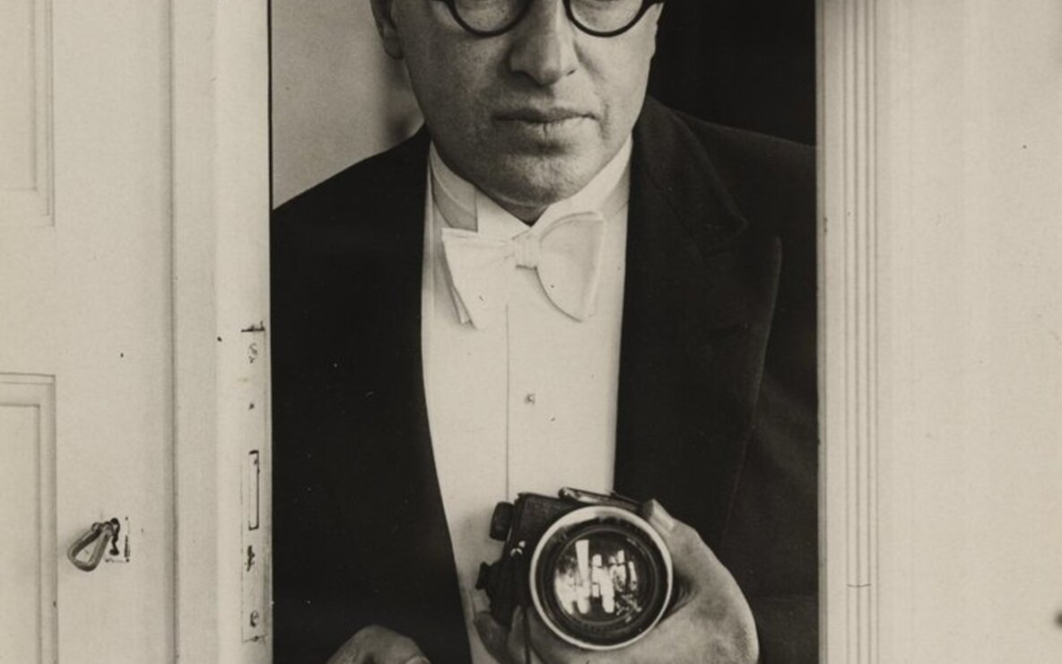 "Lore Feininger. *Erich Salomon*. 1929. Gelatin silver print, 9 1/8 x 6 1/2"" (23.2 x 16.5 cm). The Museum of Modern Art, New York. Thomas Walther Collection. Gift of Thomas Walther"