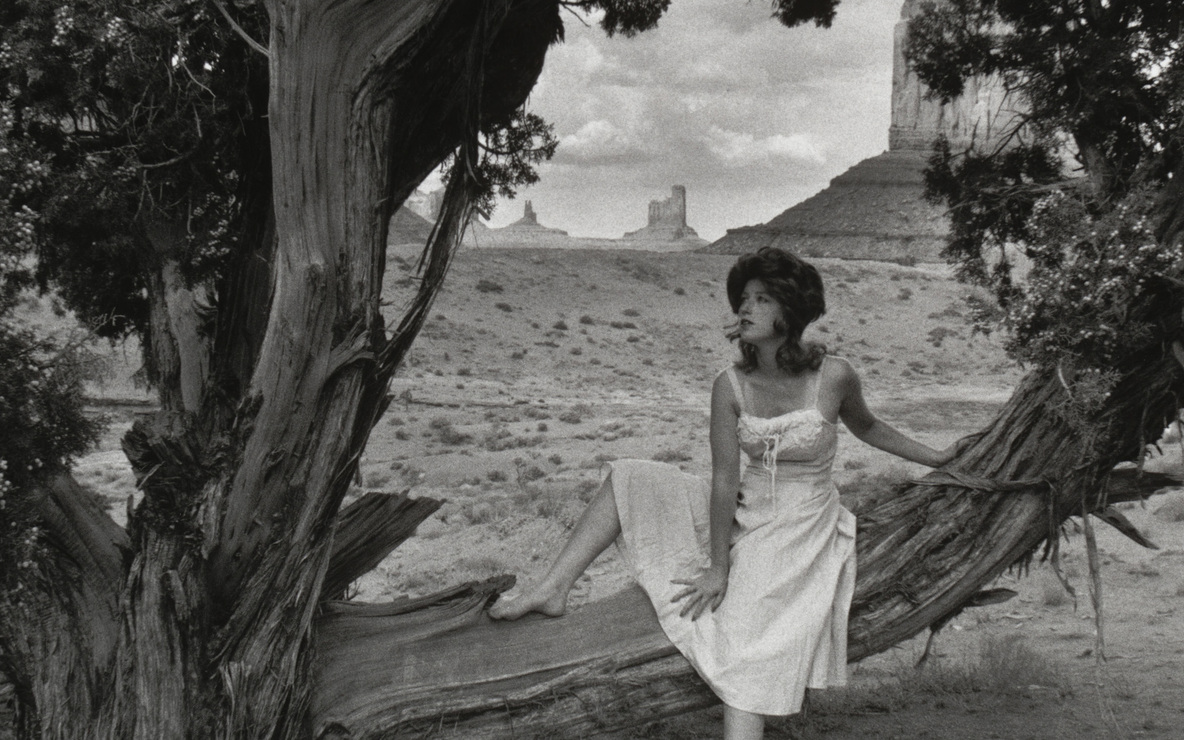 Cindy Sherman. *Untitled Film Still #43.* 1979. Gelatin silver print. 7 9/16 × 9 7/16″ (19.2 × 24 cm). The Museum of Modern Art, New York. Acquired through the generosity of Sid R. Bass. © 2008 Cindy Sherman