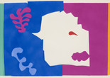 "Henri Matisse (French, 1869–1954). The Wolf (Le Loup) from Jazz. 1947. One from a portfolio of twenty pochoirs, composition (irreg.): 16 1/2 × 24 15/16"" (41.9 × 63.4 cm); sheet: 16 5/8 × 25 11/16"" (42.3 × 65.3 cm). Gift of the artist. © 2014 Succession H. Matisse / Artists Rights Society (ARS), New York"