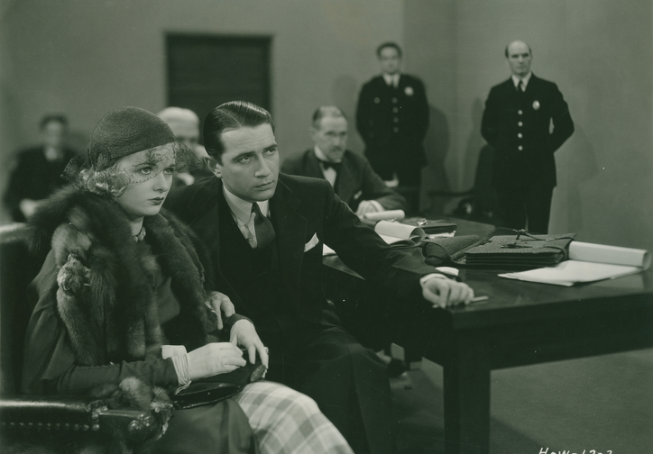 The Trial of Vivienne Ware. 1932. USA. Directed by William K. Howard