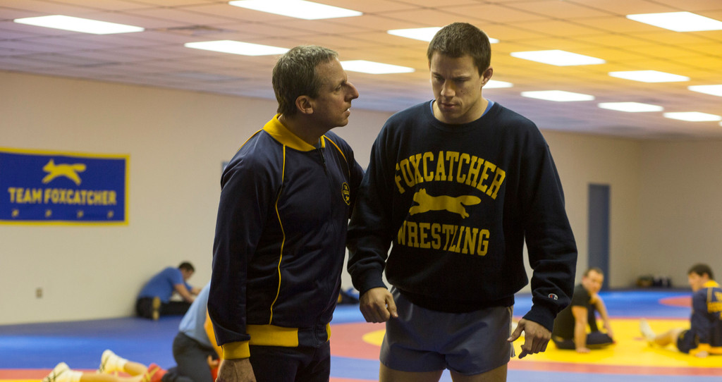 *Foxcatcher*. 2014. USA. Directed by Bennett Miller. Courtesy of Sony Pictures Classics