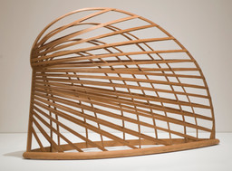 Martin Puryear. *Bower.* 1980. Sitka spruce and pine, 64″ × 7′ 10 3/4″ × 26 5/8″ (162.6 × 240.7 × 67.6 cm). Smithsonian American Art Museum, Washington D.C. Museum purchase made possible through the Luisita L. and Franz H. Denghausen Endowment, Alexander Calder, Frank Wilbert Stokes, and the Ford Motor Company. Photograph by Richard Barnes. © 2007 Martin Puryear