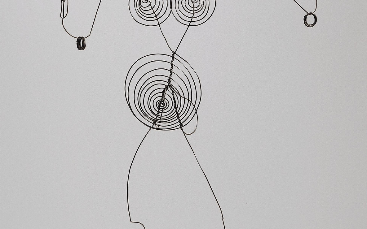 Alexander Calder. *Josephine Baker (III).* c. 1927. Steel wire. The Museum of Modern Art. Gift of the artist. © 2007 Estate of Alexander Calder/Artists Rights Society (ARS), New York