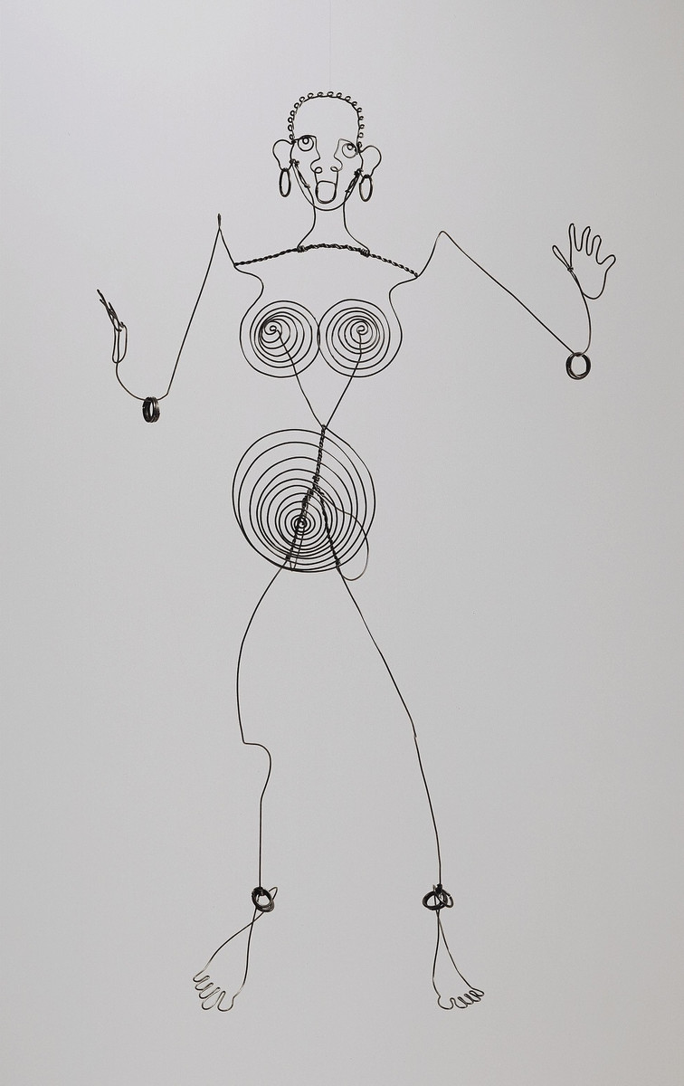 Alexander Calder. Josephine Baker (III). c. 1927. Steel wire. The Museum of Modern Art. Gift of the artist. © 2007 Estate of Alexander Calder/Artists Rights Society (ARS), New York
