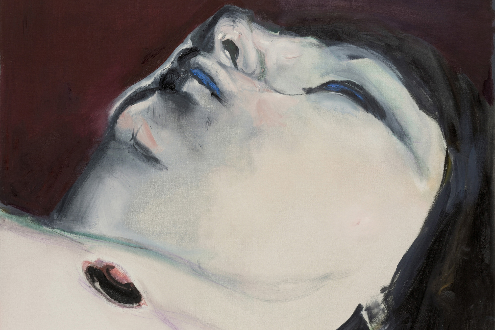 Marlene Dumas. Jen. 2005. Oil on canvas, 43 3/8 × 51 1/4″. The Museum of Modern Art, New York. Fractional and promised gift of Marie-Josée and Henry R. Kravis. © 2008 Marlene Dumas