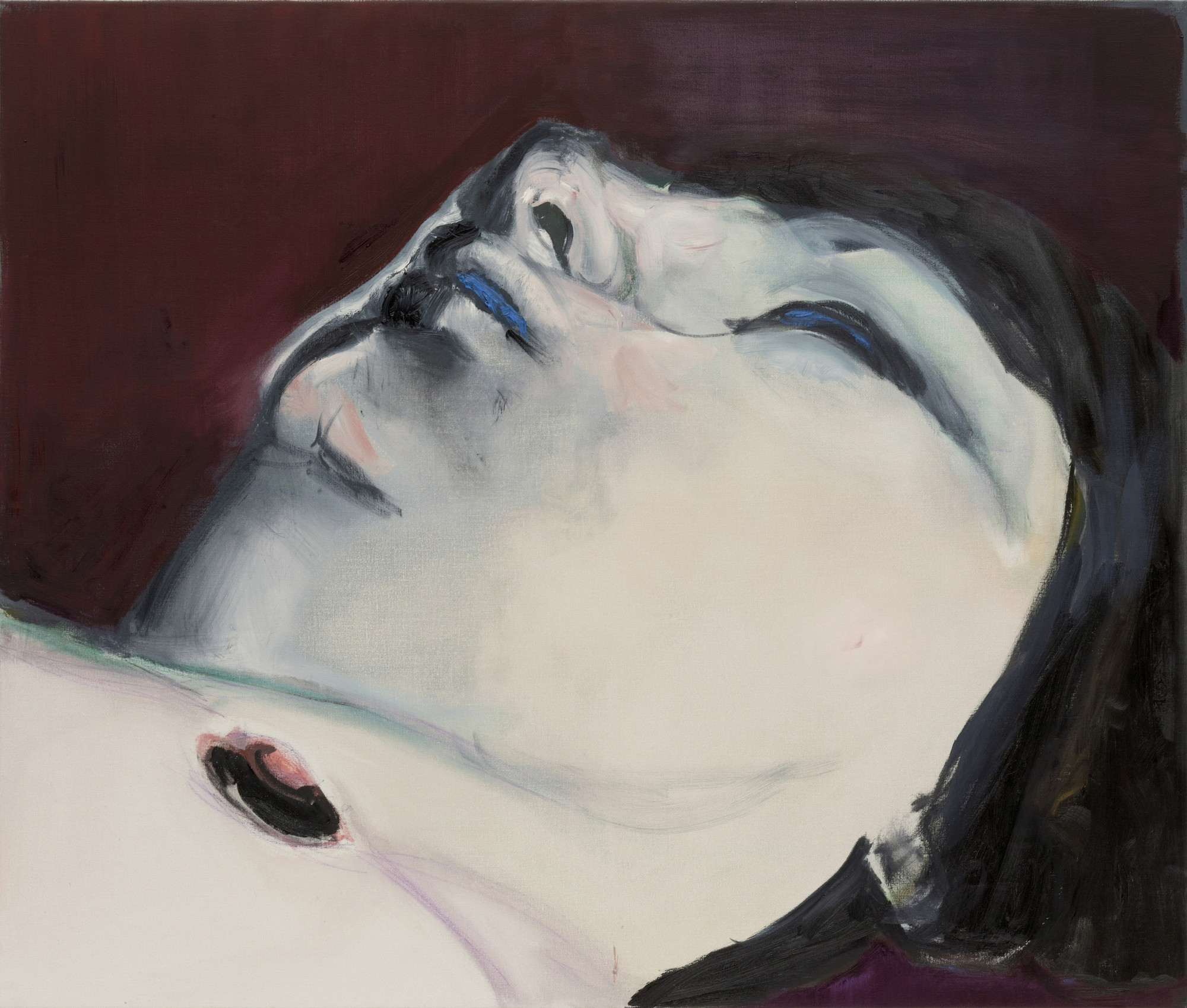Marlene Dumas. Jen. 2005. Oil on canvas, 43 3⁄8 × 51 1/4″. The Museum of Modern Art, New York. Fractional and promised gift of Marie-Josée and Henry R. Kravis. © 2008 Marlene Dumas