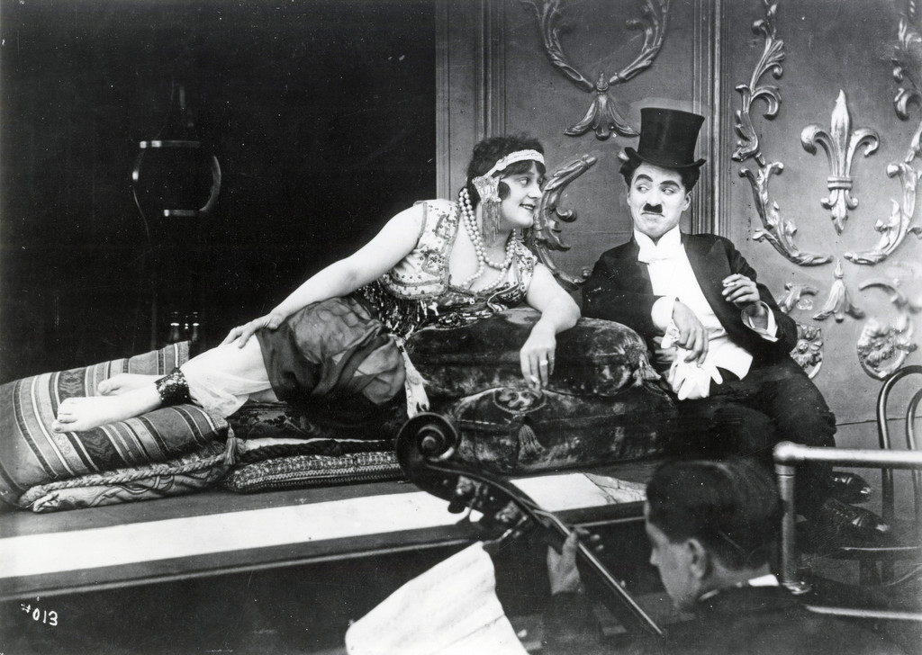 *A Night in the Show.* 1915. USA. Directed by Charles Chaplin. Courtesy Lobster Films