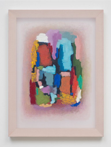 "Dianna Molzan. Untitled. 2012. Oil on silk, 24 x 18"" (61 x 45.7 cm). Nancy Delman Portnoy. Courtesy the artist. Photo: Brian Forrest"