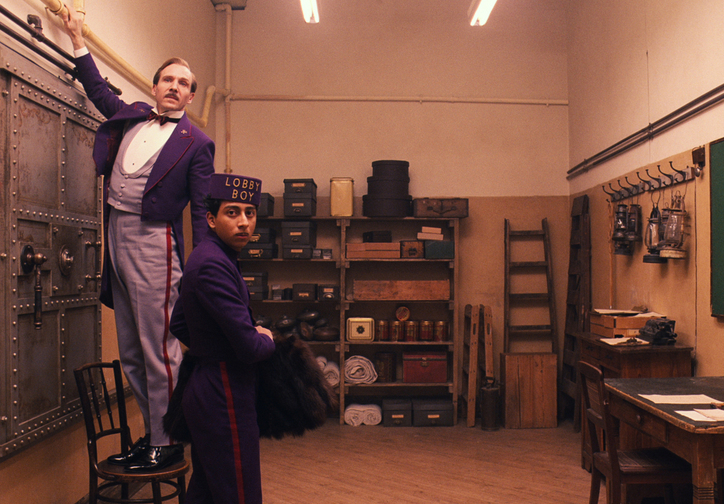 The Grand Budapest Hotel. USA/Germany/UK. Directed by Wes Anderson. Courtesy of Fox Searchlight