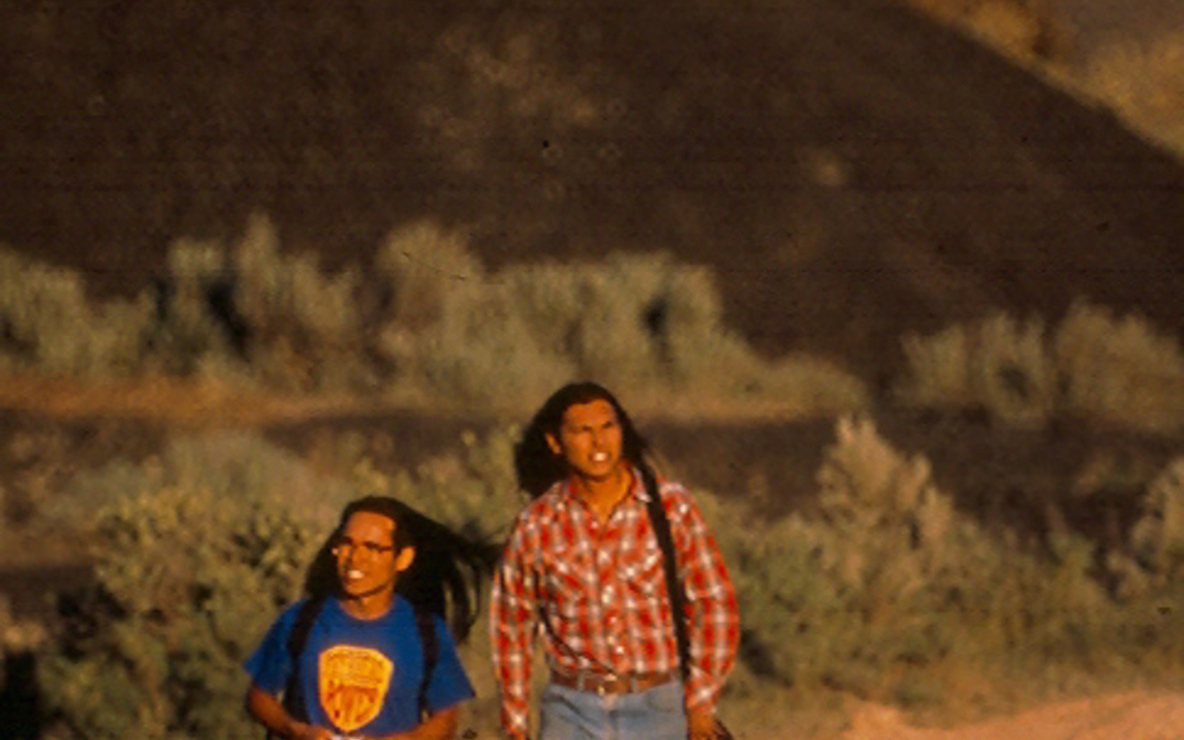 *Smoke Signals*. 1998. USA. Directed by Chris Eyre. 89 min. Courtesy of Eyre and Sundance institute