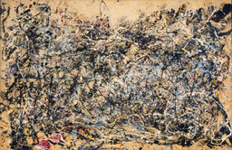 Jackson Pollock. *Number 1A, 1948.* 1948. Oil and enamel paint on canvas, 68″ × 8′ 8″ (172.7 × 264.2 cm). Purchase. © 2010 Pollock-Krasner Foundation / Artists Rights Society (ARS), New York