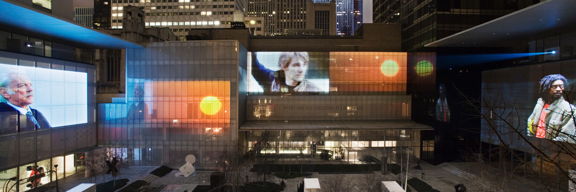Doug Aitken. <em>sleepwalkers.</em> 2007. Six-channel video (color, sound). The Dunn Bequest. © 2016 Doug Aitken. Photo: Fred Charles. Courtesy 303 Gallery, New York