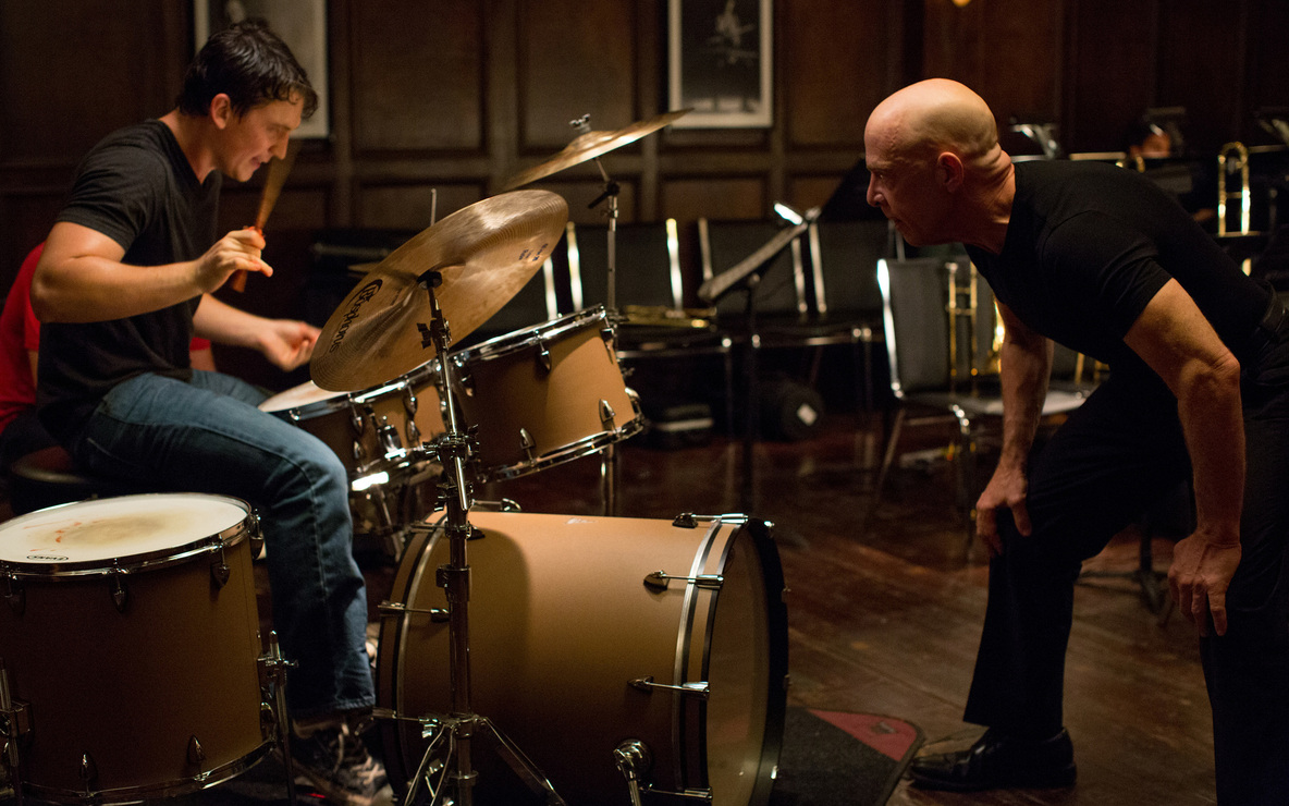 *Whiplash*. 2014. USA. Directed by Damien Chazelle. Courtesy of Sony Pictures Classics