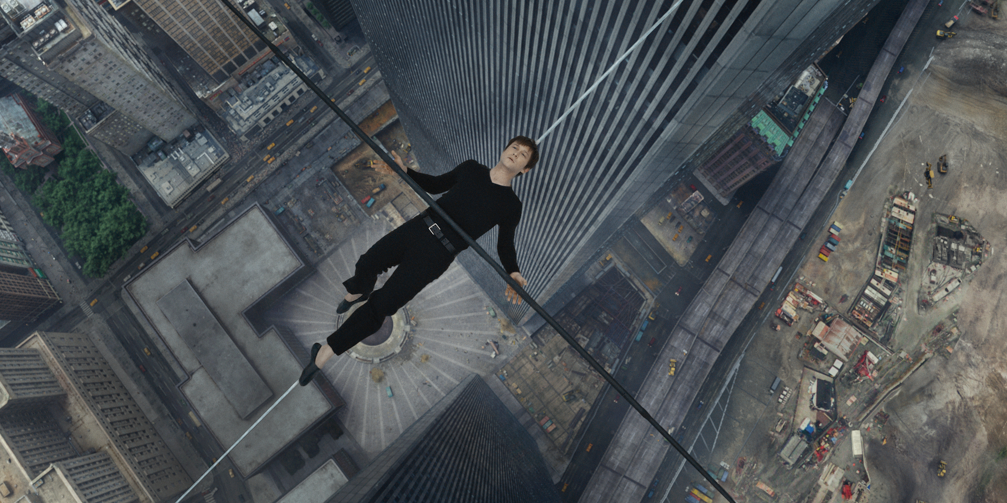 The Walk. 2015. USA. Directed by Robert Zemeckis. Courtesy Sony Pictures