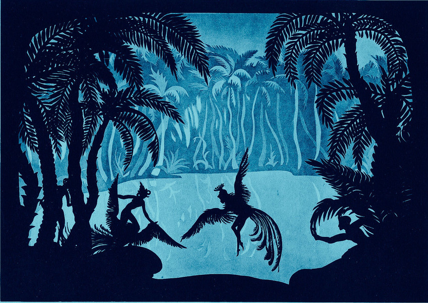 The Adventures of Prince Achmed. 1926. Germany. Directed by Lotte Reiniger