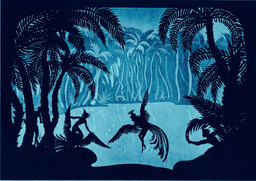 *The Adventures of Prince Achmed*. 1926. Germany. Directed by Lotte Reiniger