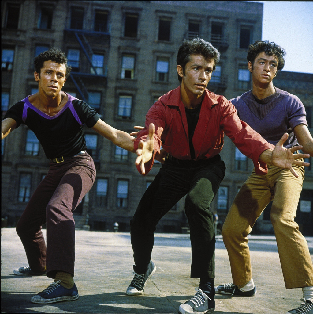 *West Side Story.* 1961. USA. Directed by Robert Wise and Jerome Robbins. In George Chakiris: A Life in Film. Courtesy MGM Studios/Park Circus
