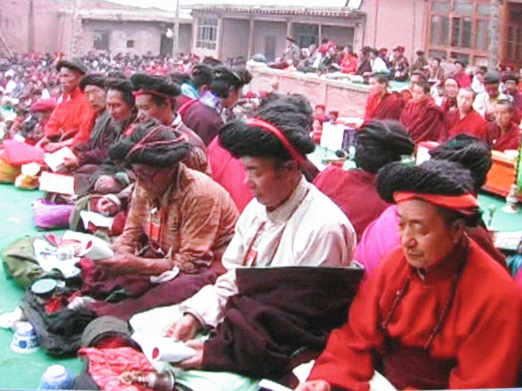 *Tantric Yogi*. 2005. China/France. Directed by Dorje Tsering. 50 min. Courtesy of Tsering and Sundance Institute