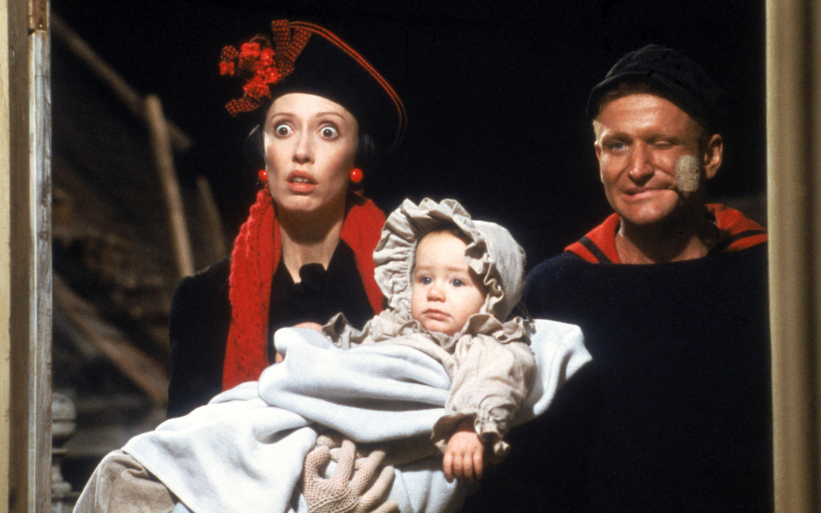 *Popeye*. 1980. USA. Directed by Robert Altman. Courtesy Paramount Pictures