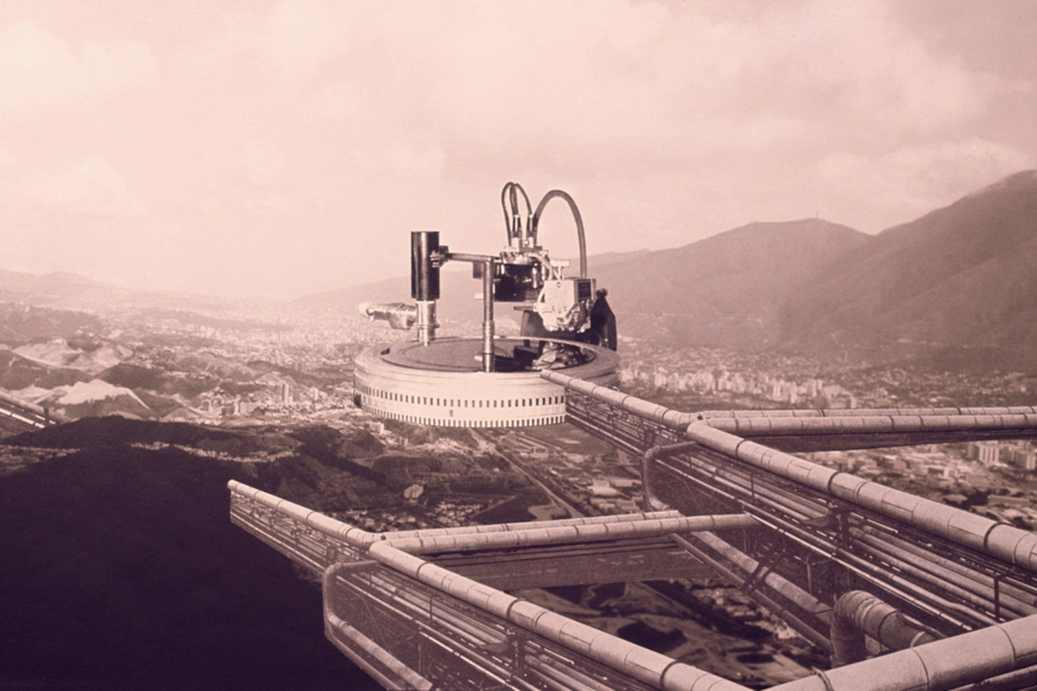 "Jorge Rigamonti. Caracas Nodo de Transferencia (Caracas Transfer Node 2). 1970. Photocollage. 9 1/4 x 15"" (23.5 x 38.1cm). The Museum of Modern Art, New York. Gift of the architect"