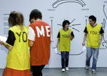 Ricardo Basbaum, <em>me-you: choreographies, games and exercises</em>, 2007. Performed at the Lisson Gallery, London. Courtesy of the artist
