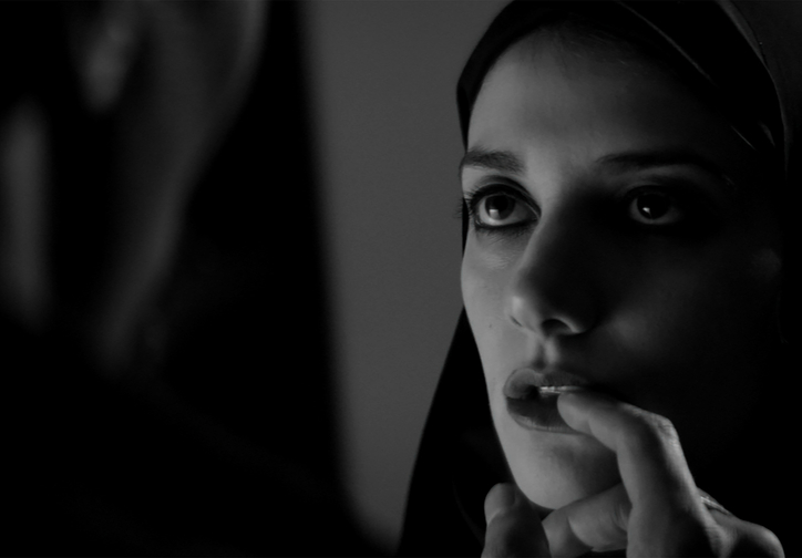 A Girl Walks Home Alone at Night. 2014. USA. Directed by Ana Lily Amirpour. Courtesy of Kino Lorber