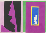"Henri Matisse (French, 1869–1954). Destiny (Le Destin) from Jazz. 1947. One from a portfolio of twenty pochoirs, composition (irreg.): 16 1/4 × 24 13/16"" (41.2 × 63.1 cm); sheet: 16 9/16 × 25 11/16"" (42 × 65.3 cm). Gift of the artist. © 2014 Succession H. Matisse / Artists Rights Society (ARS), New York"