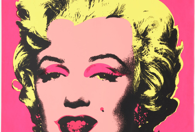 "Andy Warhol. Untitled from Marilyn Monroe. 1967. One from a portfolio of 10 screenprints, composition and sheet: 36 x 36"" (91.5 x 91.5 cm). Publisher: Factory Additions, New York. Printer: Aetna Silkscreen Products Inc., New York. Edition: 250. Gift of Mr. David Whitney, 1968. © 2015 Andy Warhol Foundation for the Visual Arts/Artists Rights Society (ARS), New York"