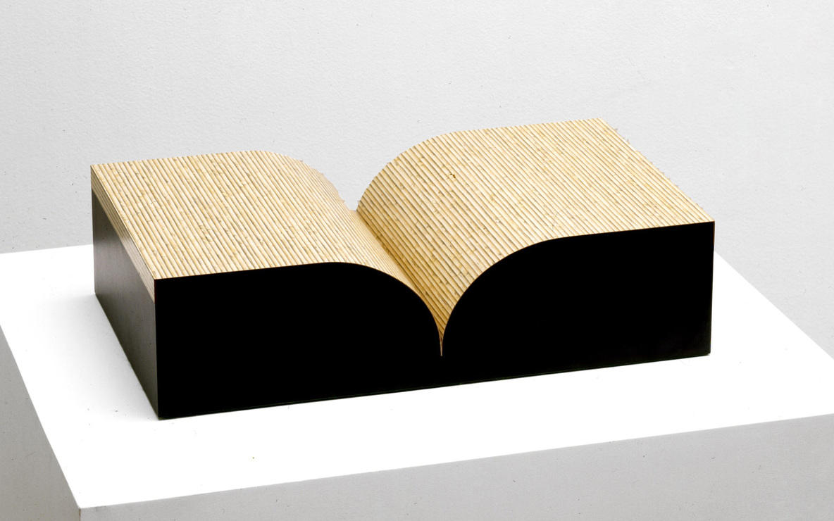 Richard Artschwager. *Book.* 1987. Multiple of formica and wood. object: 5 1/8 × 20 1/8 × 12 1/16″ (13 × 51.1 × 30.7 cm). The Museum of Modern Art, New York. Virginia Cowles Schroth Fund. © 2008 Richard Artschwager / Artists Rights Society (ARS), New York.