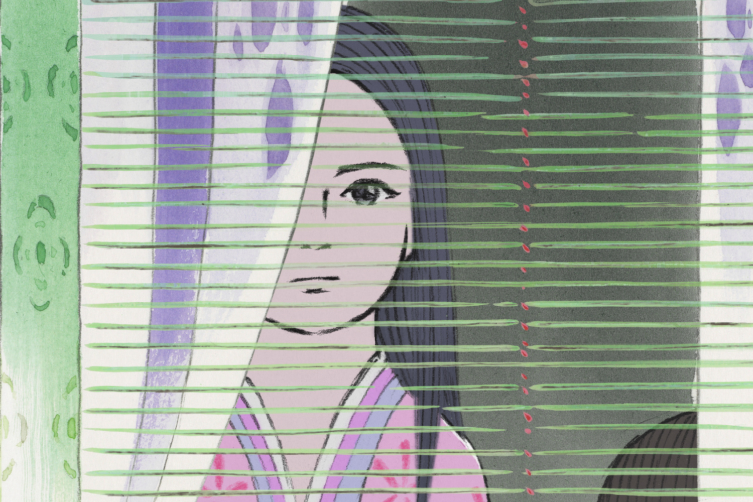 The Tale of Princess Kaguya. 2014. Japan. Directed by Isao Takahata. Courtesy of GKids