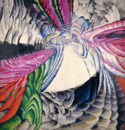 František Kupka. Localization of Graphic Motifs II. 1912–13. Oil on canvas, 78 3⁄4 × 76 3/8″ (200 × 194 cm), frame: 78 3⁄4 × 76 3/8″ (200 × 194 cm). National Gallery of Art, Washington, D.C., Ailsa Mellon Bruce Fund and Gift of Jan and Meda Mladek. Image courtesy of the National Gallery of Art, Washington. © 2012 Artists Rights Society (ARS), New York/ADAGP, Paris