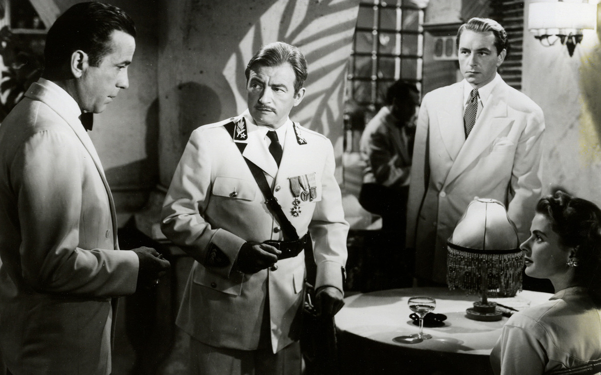 *Casablanca*. 1942. USA. Directed by Michael Curtiz