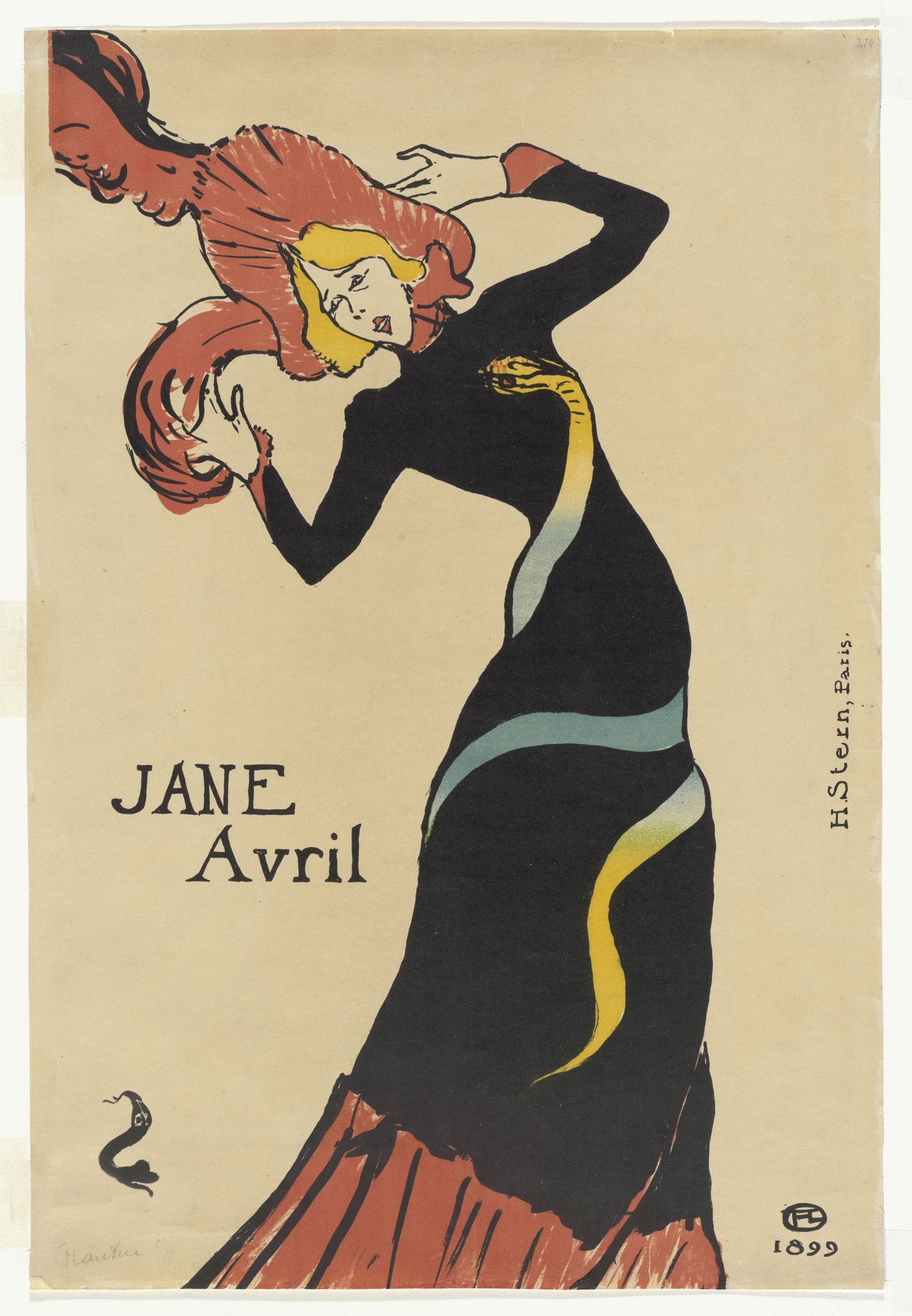 The paris of toulouse lautrec prints and posters moma for Toulouse lautrec works