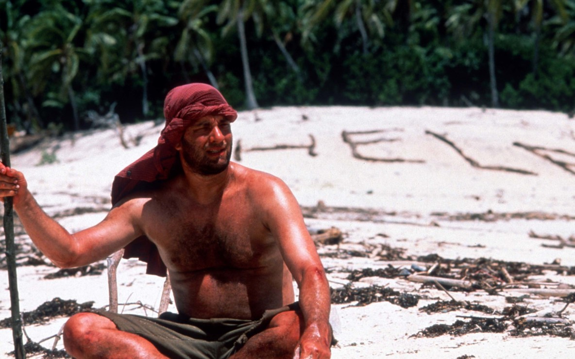 *Cast Away*. 2000. USA. Directed by Robert Zemeckis. Courtesy of Photofest