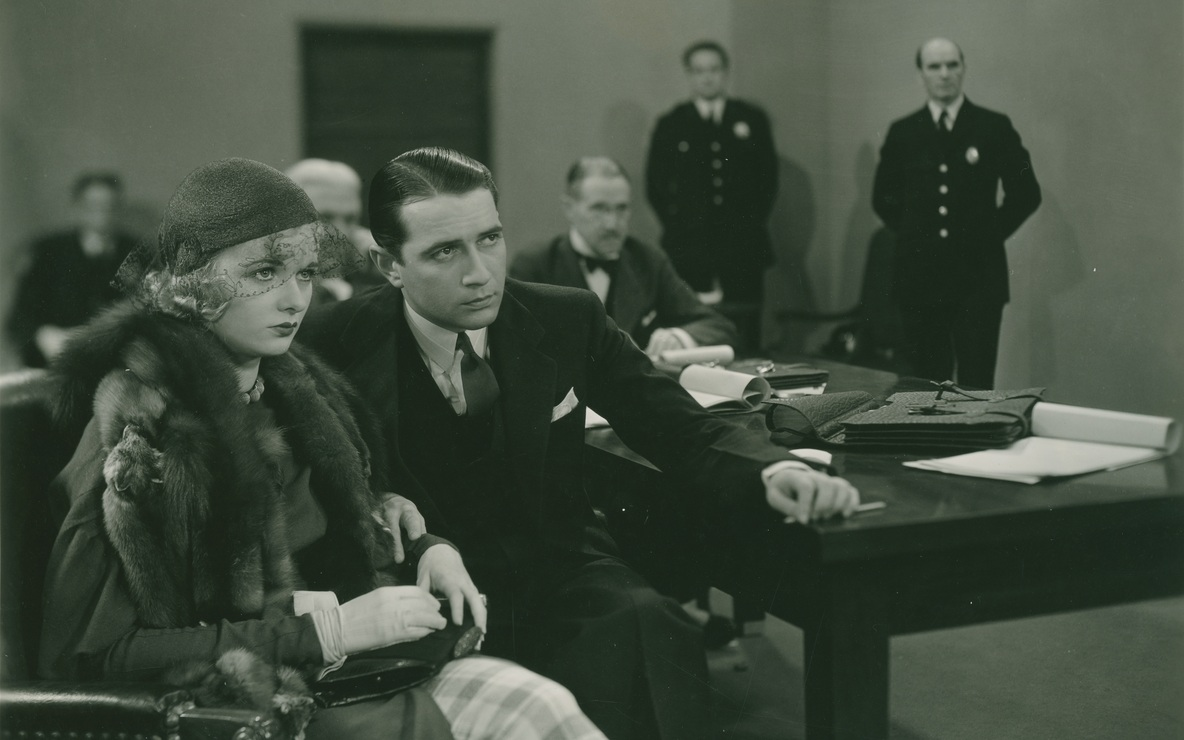 *The Trial of Vivienne Ware*. 1932. USA. Directed by William K. Howard