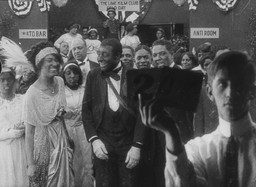 Production still from *Bert Williams Lime Kiln Field Day Project*. 1913. Odessa Warren Grey and Bert Williams
