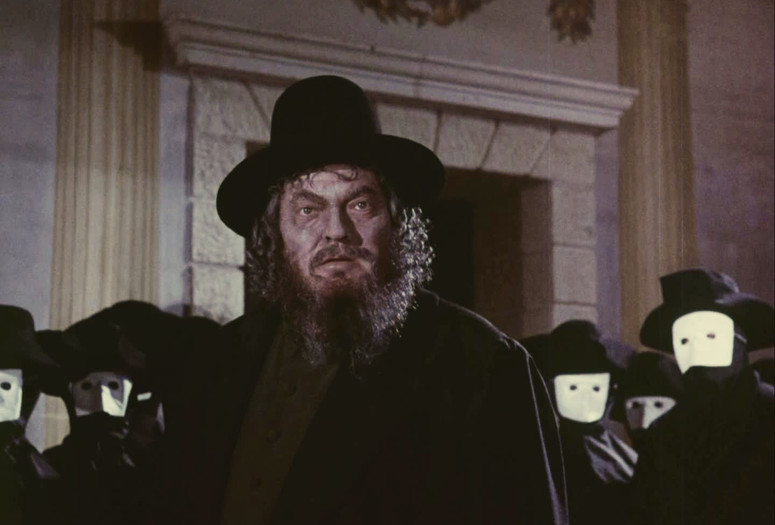 The Merchant of Venice. 1969. Directed by Orson Welles. Courtesy Munich Filmmuseum