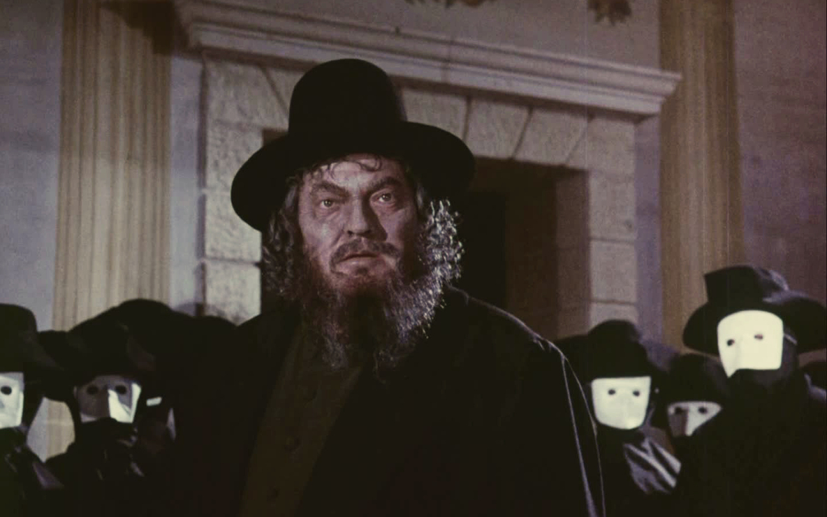 *The Merchant of Venice*. 1969. Directed by Orson Welles. Courtesy Munich Filmmuseum
