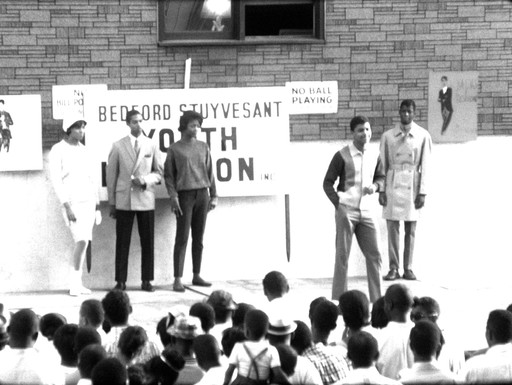 [Footage of Bedford-Stuyvesant Youth in Action]. 1965. USA. Director(s) unknown. Courtesy The National Museum of African American History and Culture