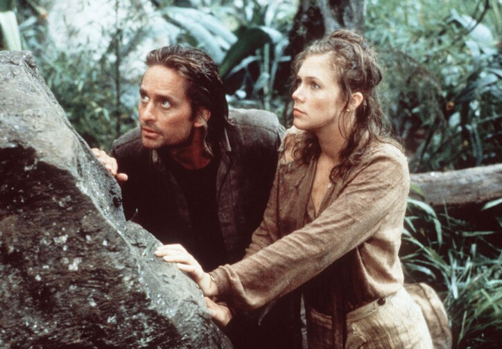 Romancing the Stone. 1984. USA. Directed by Robert Zemeckis. Courtesy of Photofest