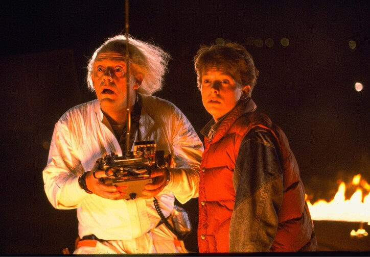 Back to the Future. 1985. USA. Directed by Robert Zemeckis. Courtesy of Photofest