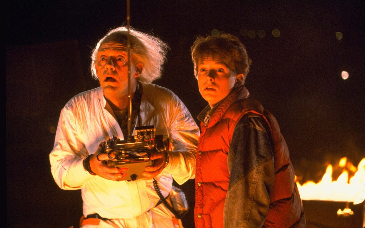 *Back to the Future*. 1985. USA. Directed by Robert Zemeckis. Courtesy of Photofest