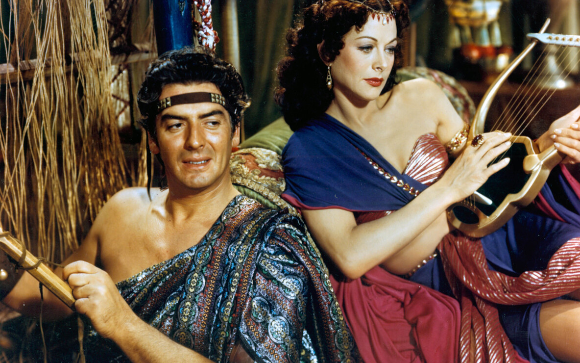 *Samson and Delilah*. 1949. USA. Directed by Cecil B. DeMille. Image courtesy Paramount Pictures/Photofest
