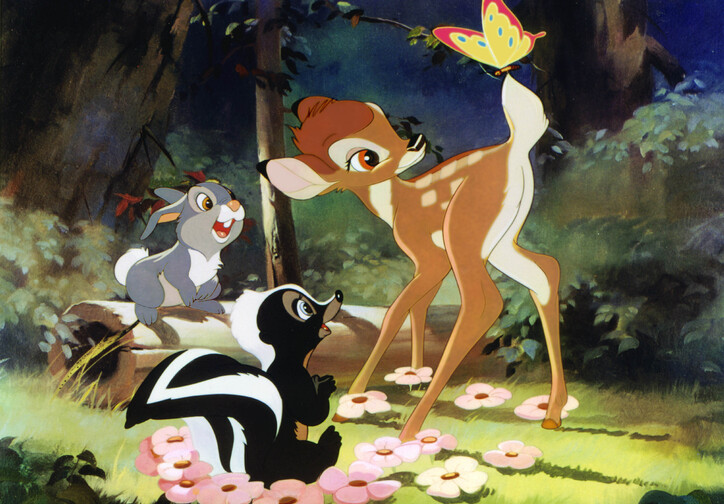 Bambi. 1942. USA. Directed by James Algar, Samuel Armstrong, David Hand, Graham Heid, Bill Roberts, Paul Satterfield, Norman Wright. Image courtesy Walt Disney Pictures/Photofest