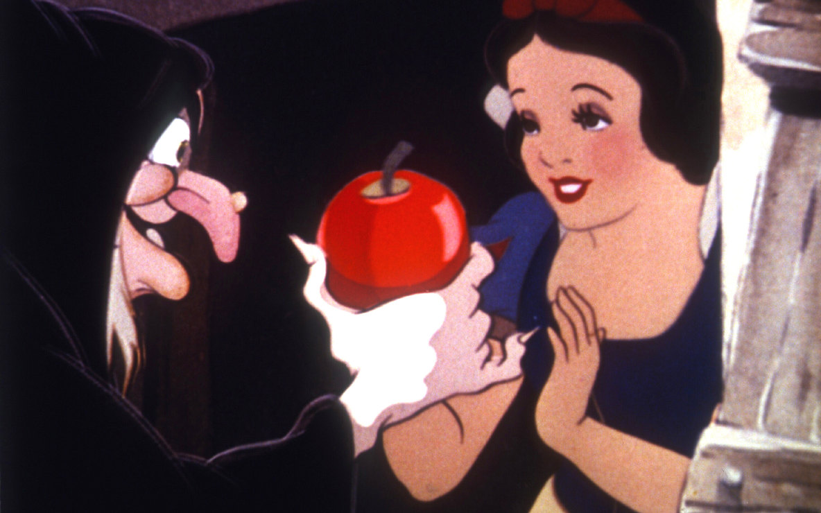 *Snow White and the Seven Dwarfs*. 1937. USA. Directed by David Hand, William Cottrell, Wilfred Jackson, Larry Morey, Perce Pearce, Ben Sharpsteen. Image courtesy RKO Radio Pictures/Photofest