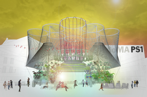 Andrés Jaque / Office for Political Innovation. COSMO. 2015. Young Architects Program 2015, MoMA PS1, New York, winner