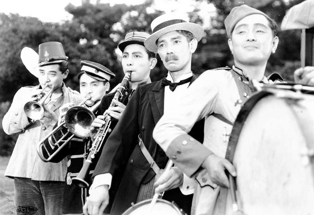 *Five Men in the Circus*. 1935. Japan. Directed by Mikio Naruse