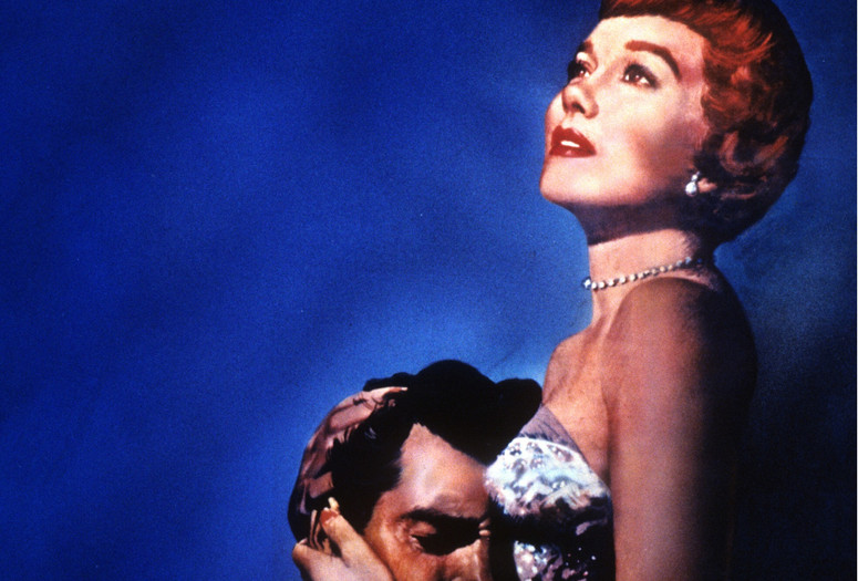 Magnificent Obsession. 1954. USA. Directed by Douglas Sirk. Shown, from left: Rock Hudson, Jane Wyman. Image courtesy Universal Pictures/Photofest