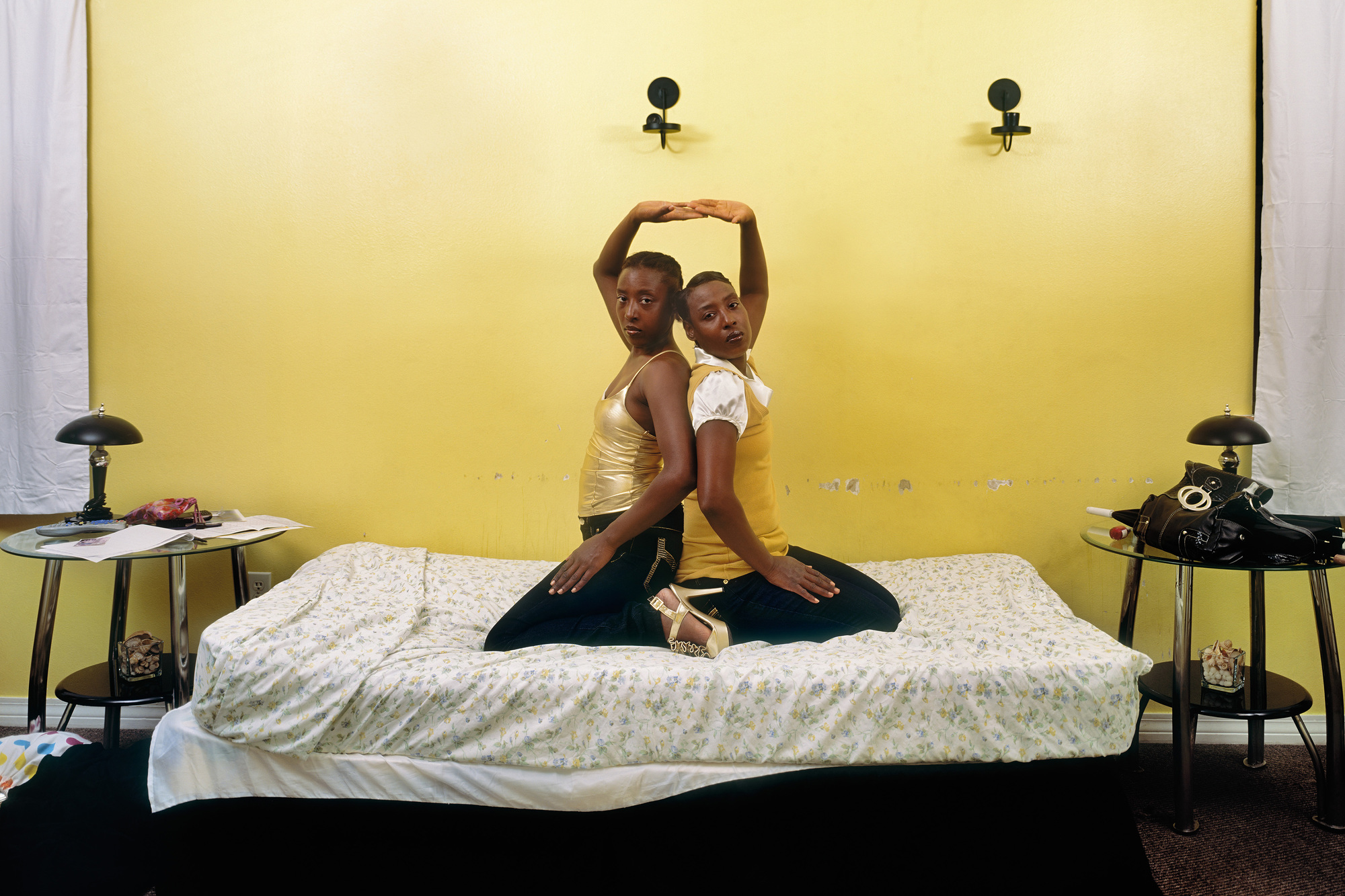 Deana Lawson (American, b. 1979). Roxie and Raquel. 2010. Pigmented inkjet print, 34 3/4 × 43 5/8ʺ (88.3 × 110.8 cm). Fund for the Twenty-First Century. © 2016 Deana Lawson